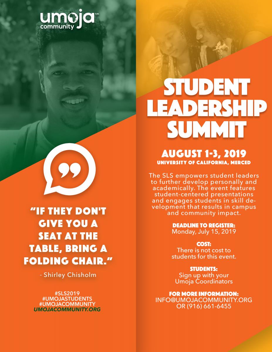 Student Leadership Summit | Umoja Community